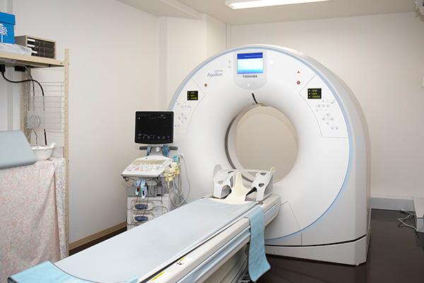 内視鏡、健診も⾏う外来診療体制